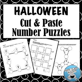 Halloween Number Puzzles!