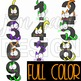 Halloween Numbers Clipart -NumberCATS