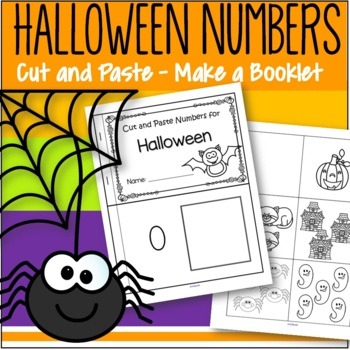 Halloween Numbers 0-10 Cut and Paste FREE