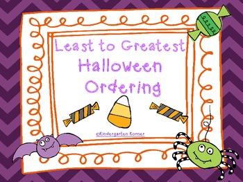 Halloween Ordering