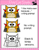 Halloween Writing Cut-Outs - Halloween Activities: Zombie,