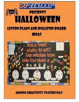 Halloween PE Lesson Ideas & Bulletin Boards