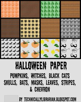 Halloween Paper