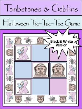 Halloween Party Activities: Tombstones & Goblins Halloween