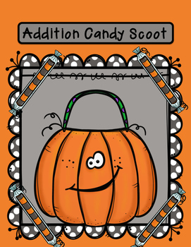 Halloween Party Candy Scoot Game