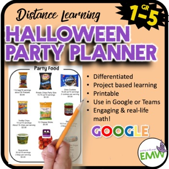 Halloween Math Activity - Real Life Project Based Learning