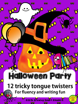 Halloween Party Tricky Tongue Twisters