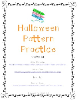 Halloween Pattern Practice