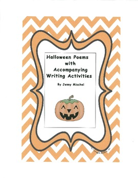 Halloween Poems with Accompanying Writing Activities
