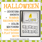 Halloween Pre K Adaptive Book Counting to 10 & Colors