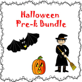 Halloween Pre-k Adapted Book Bundle Special Education