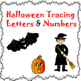 Halloween Pre-k Vocab, Beginning Letters & Number Tracing
