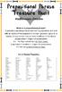 Halloween Grammar Prepositional Phrase Treasure Map