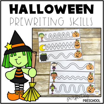 Halloween Prewriting Skills {Dollar Deal}