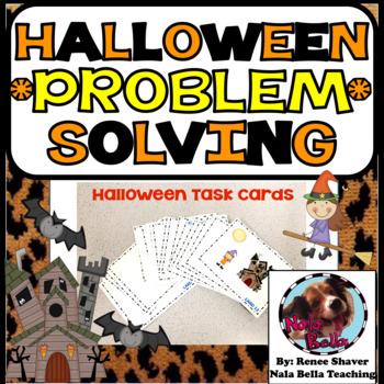 Halloween Problem Solving Word Problems