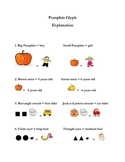 Halloween Pumpkin Glyph