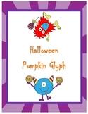 Halloween Pumpkin Glyph {First Grade}