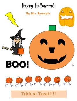 Halloween Pumpkin Version 3 Technology Lesson Plan & Materials