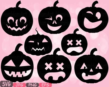 Halloween Pumpkins Trick Or Treat pumpkin face clipart hol
