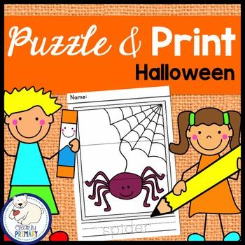 Halloween: Puzzle & Print