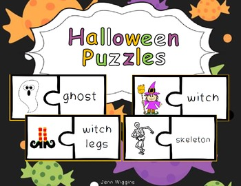 Halloween Puzzles ~ 30 Full Color Puzzles Plus Follow Up A