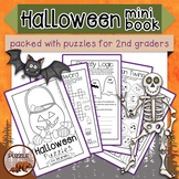 Halloween Puzzles for Second Graders Mini Book