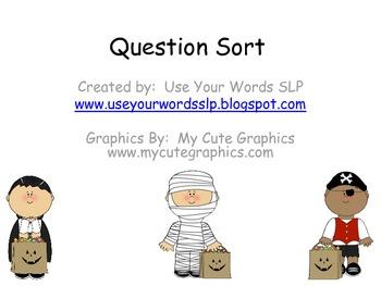 (Halloween) Question Sort