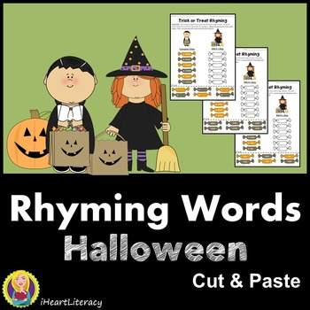 Halloween Rhyming Words