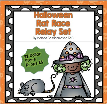 Halloween : Rat Race Broom Relays Set