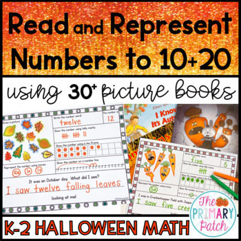 Halloween: Read and Represent Numbers Using Picture Books