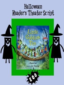Halloween Reader's Theater: Little Goblins Ten