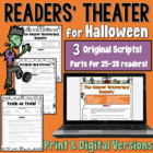 Halloween Readers' Theater