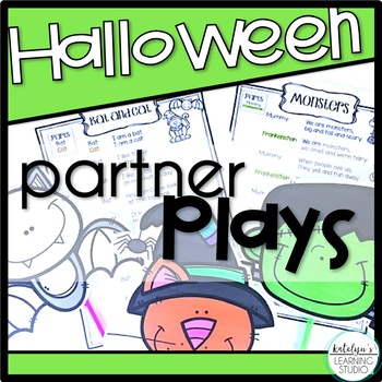Halloween Readers Theater Partner Plays Poems for Grade 1,
