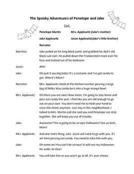 Halloween Reader's Theater Script