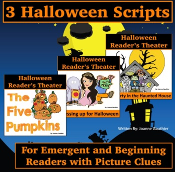 Halloween Readers' Theater for Emergent and Beginning Readers