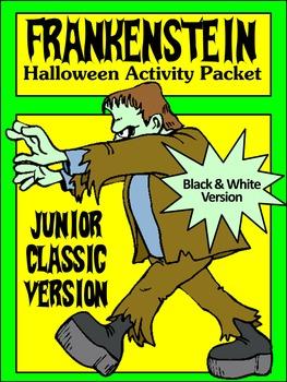 Halloween Reading Activities: Frankenstein Junior Classic