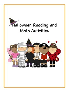 Halloween Reading and Math Printables