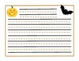 Halloween Response Sheet