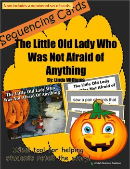 Halloween Retell/Sequence: The Little Old Lady Who Was Not