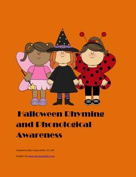 Halloween Rhyming and Phonological Awareness
