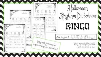 Halloween Rhythm Bingo - Level 3