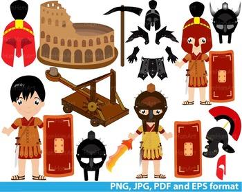 Halloween Rome Clip Art school teachers hero party warrior