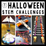 Halloween STEM Challenges: 5-in-1 Bundle