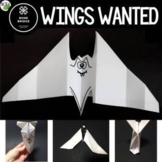 Halloween STEM Design Challenge: Wings Wanted