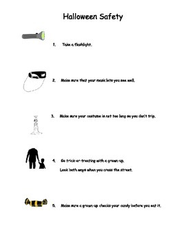 Halloween Safety Tips and Halloween Quiz