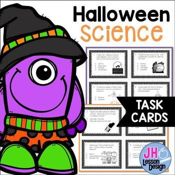 Halloween Science Task Cards