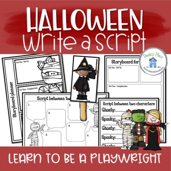 Halloween Script Writing (K-1)