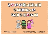 Halloween Secret Message