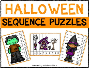 Halloween Sequence Puzzles