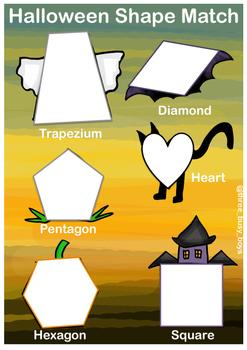 Halloween Shape Match